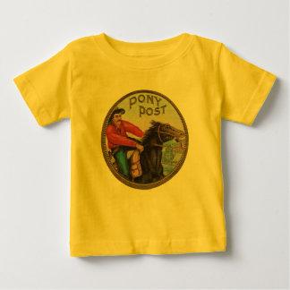 Pony Post infant T yellow Baby T-Shirt