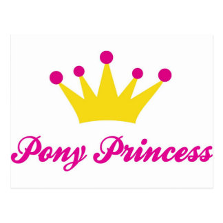 Pony Princess Postcard