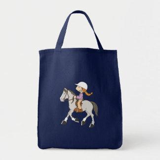 Pony Rider Canvas Bag