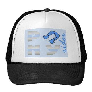 PoNY rider side blue Trucker Hat