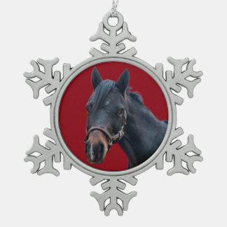Pony Snowflake Ornament