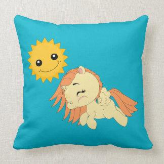 Pony - Throw Pillow 20x20