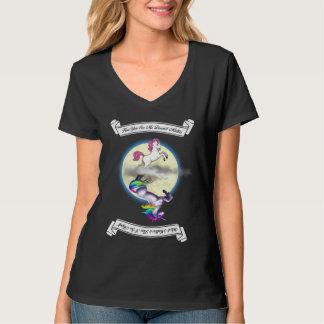 "Pony/Unicorn ""How You See Me"" Women V-Neck T-Shirt"