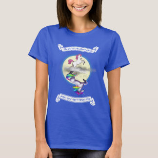 "Pony/Unicorn ""How You See Me"" Womens T-Shirt"
