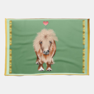 PONY-with a heart Hand Towels