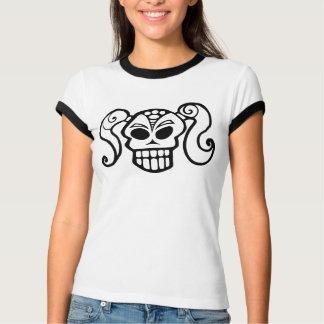 Ponytail Skull Girl T-shirt