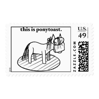 Ponytoast... for all your stamping needs! stamp