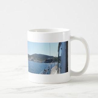 Ponza From The Sea Coffee Mug