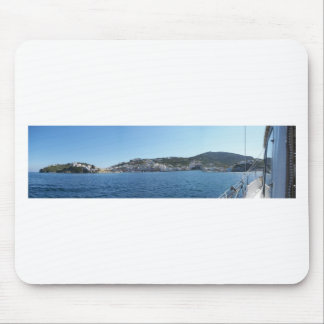 Ponza From The Sea Mousepads