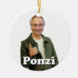 PONZI ornament