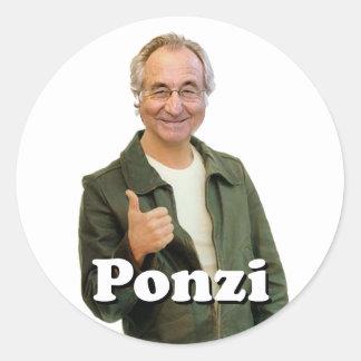 PONZI sticker