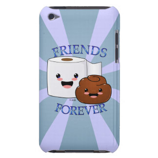 Poo and Toilet Paper BFFS Barely There iPod Cover