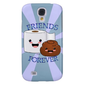 Poo and Toilet Paper BFFS Galaxy S4 Cover