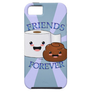 Poo and Toilet Paper BFFS iPhone 5 Cases