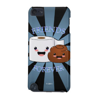 Poo and Toilet Paper Friends Forever iPod Touch 5G Cover