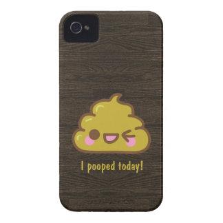 ¡Poo de Cutie - pooped hoy! Case-Mate iPhone 4 Protector