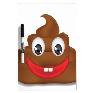 poo emojis Dry-Erase whiteboards