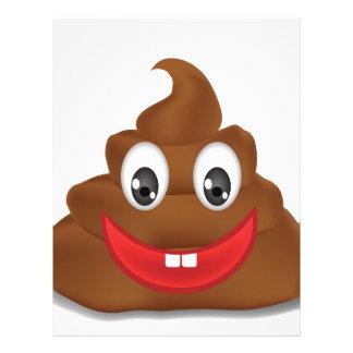 poo emojis letterhead