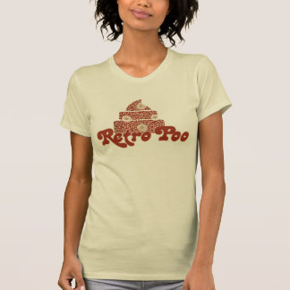 Poo retro camiseta