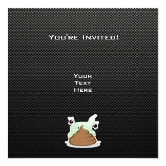 Poo Stinky; Liso Invitaciones Personales