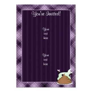 Poo Stinky; Púrpura Comunicado Personalizado
