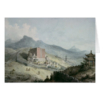 Poo Ta La, or Great Temple of Fo Card