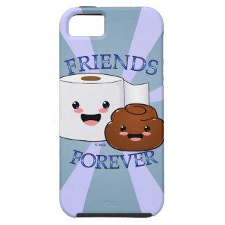 Poo y papel higiénico BFFS Funda Para iPhone 5 Tough