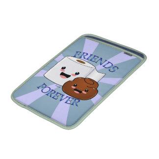 Poo y papel higiénico BFFS Funda Para Macbook Air