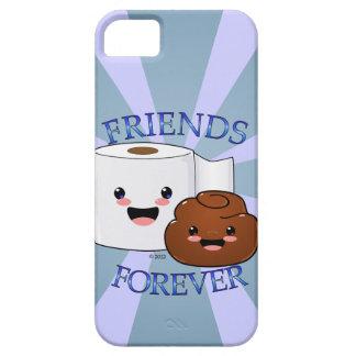 Poo y papel higiénico BFFS iPhone 5 Carcasa