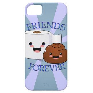 Poo y papel higiénico BFFS iPhone 5 Carcasas