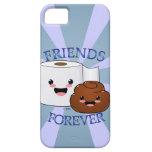 Poo y papel higiénico BFFS iPhone 5 Cobertura