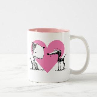 Pooch Heart Mug
