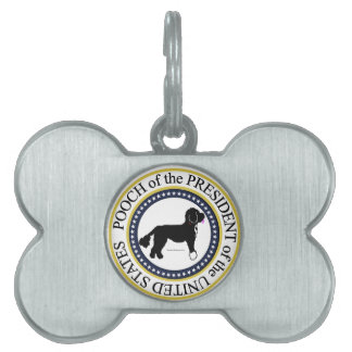 Pooch of the President Dog Tag