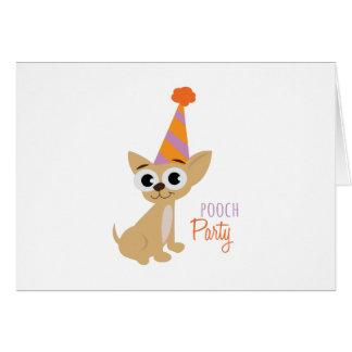 Pooch Party Card