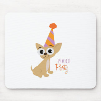 Pooch Party Mouse Pad