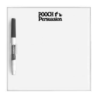 Pooch Persuasion, Dry Erase Board