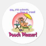 Pooch Pleaser Sticker