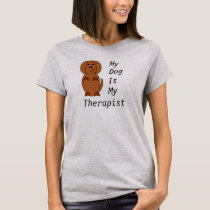 Pooch therapy t-shirt