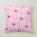 Pooches in Pink Pillow