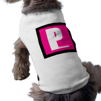 Poochies in 'Pink'opolis Doggie T-shirt
