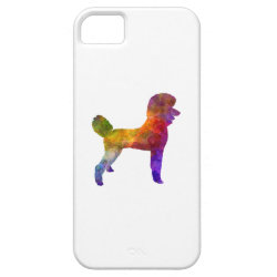 Case-Mate Vibe iPhone 5 Case with Poodle Phone Cases design