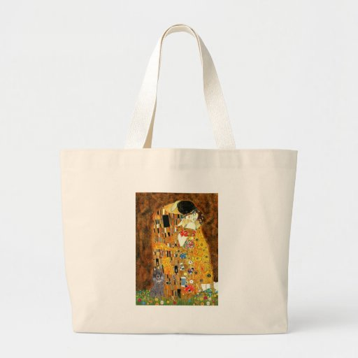 Poodle (8S) - The Kiss Tote Bags