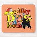 Poodle Agility Gifts mousepad