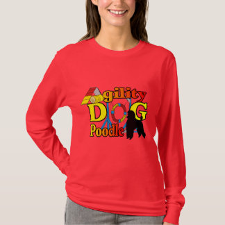 Poodle Agility Gifts T-Shirt