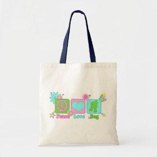 Poodle Canvas Bag