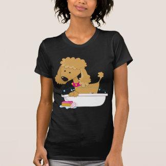 Poodle Bath Tshirt