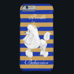 """Poodle Behavior iPhone Case<br><div class=""""desc"""">Are you a &quot;pretty poodle&quot; who is always on her best RHOyal behavior? If so,  this phone case is for you!</div>"""