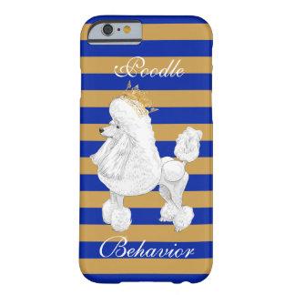 Poodle Behavior iPhone Case