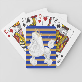 Poodle Behavior Playing Cards
