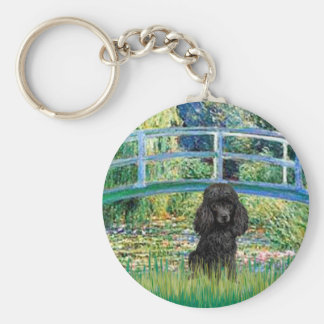 Poodle (black 1) - Bridge Key Chain